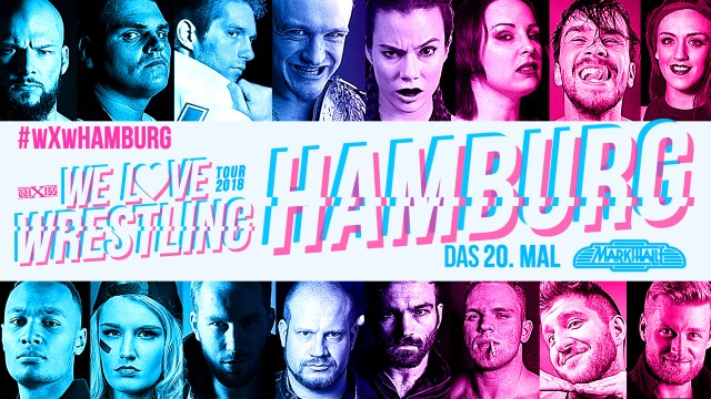 wXw We Love Wrestling Tour 2018: Hamburg- 20th Time in the Markethalle
