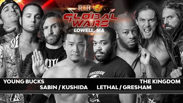 ROH/NJPW Global Wars Tour 2018: Day 2