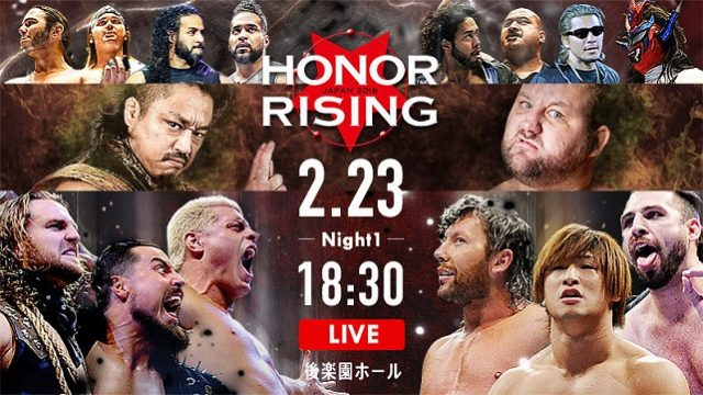 NJPW/ROH Honor Rising 2018 Day 1