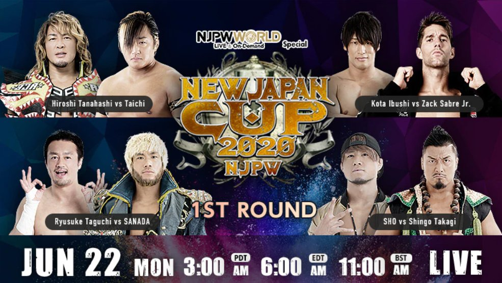 NJPW New Japan Cup 2020: Day 3