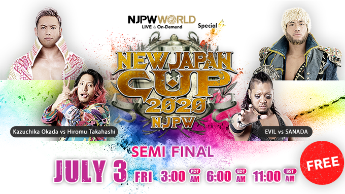 NJPW New Japan Cup 2020: Day 8
