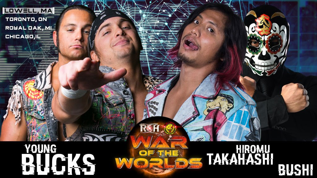 ROH/NJPW War of the Worlds Tour 2018: Day 1