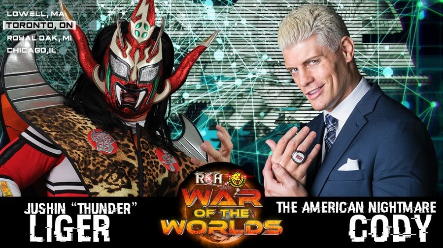 ROH/NJPW War of the Worlds Tour 2018: Day 2