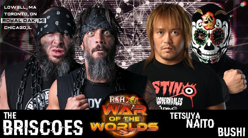 ROH/NJPW War of the Worlds Tour 2018: Day 3