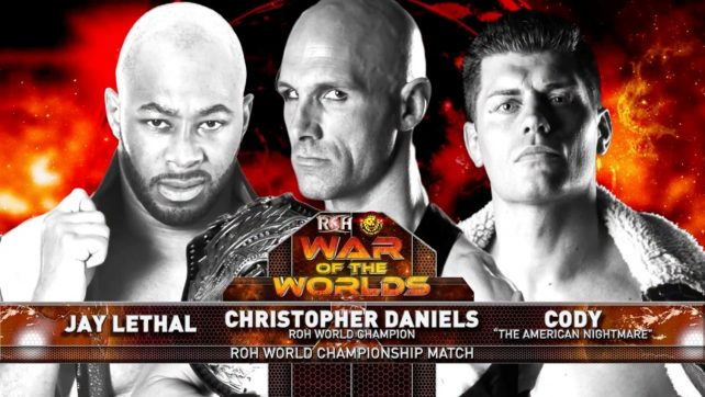 ROH War of the Worlds 2017