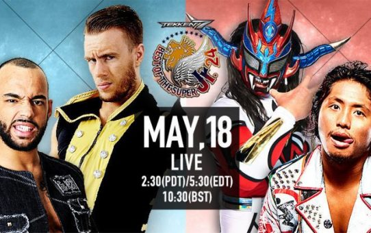 NJPW Best of the Super Jr. 24 Day 2