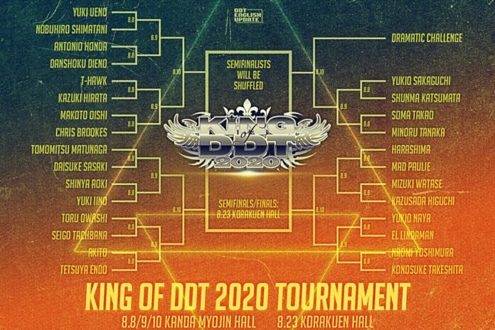 DDT King of DDT 2020 Round 1
