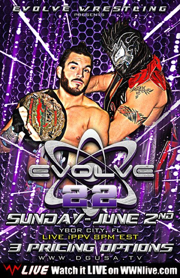 EVOLVE 22: Gargano vs. del Sol