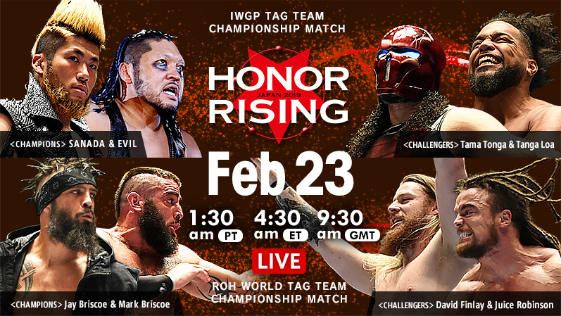 ROH/NJPW Honor Rising 2019, Day 2