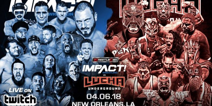 WrestleCon Presents: Impact Wrestling vs Lucha Underground