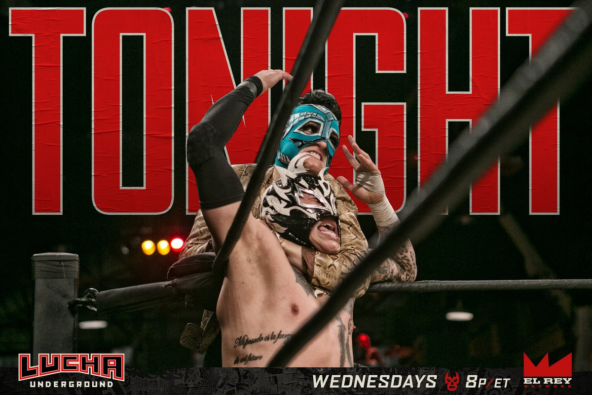 Lucha Underground S03E29: The Hunger Inside