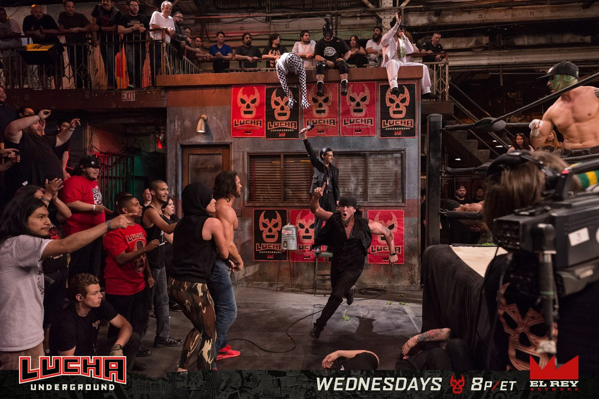 Lucha Underground S03E31: The Cup Runneth Over