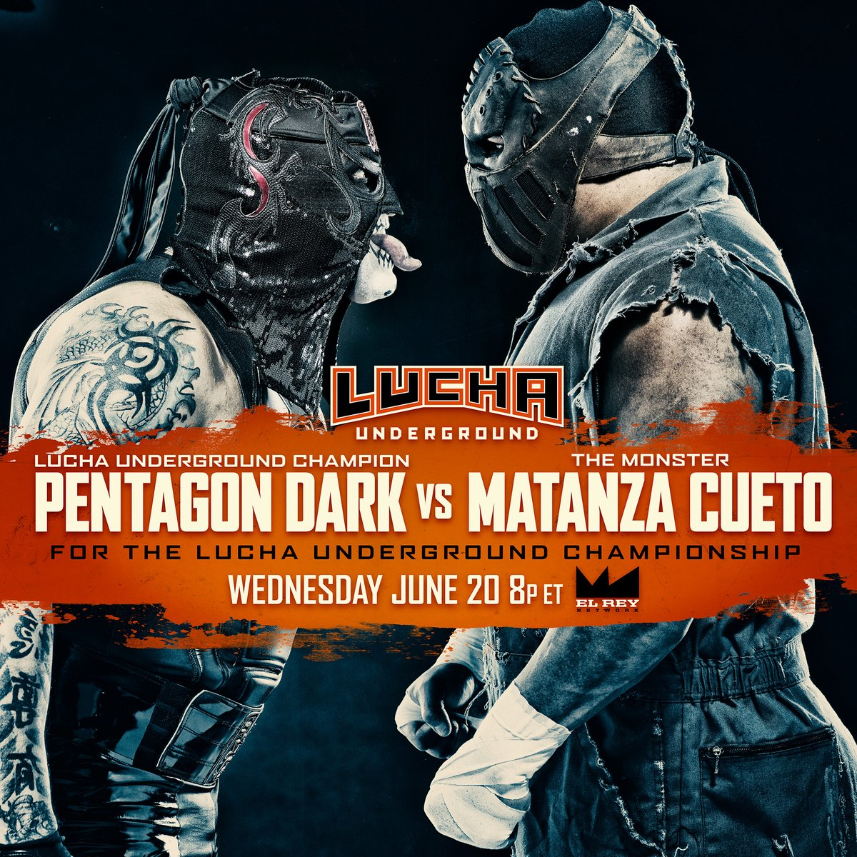 Lucha Underground S04E02: Darkness and The Monster