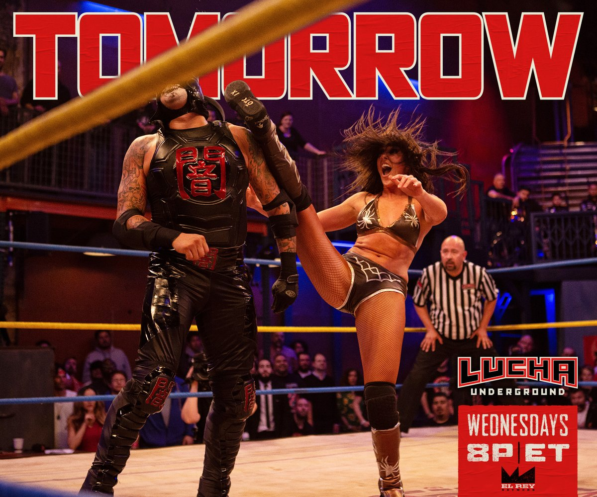 Lucha Underground S04E18: Spiders and Skeletons