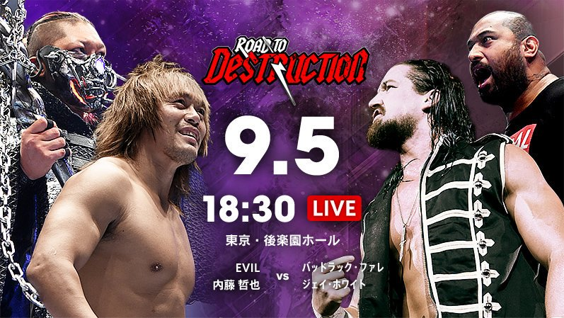 NJPW Road To Destruction 2019, 9.5