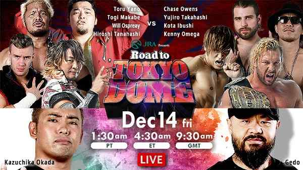 NJPW Road to the Tokyo Dome 2018: Day 1