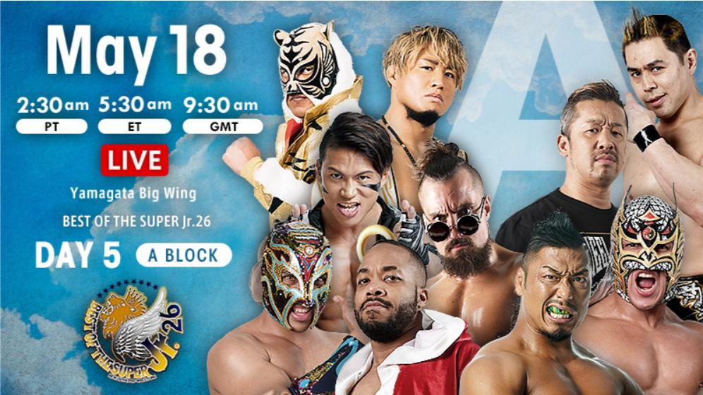 NJPW Best of the Super Jr. 26, 5.18