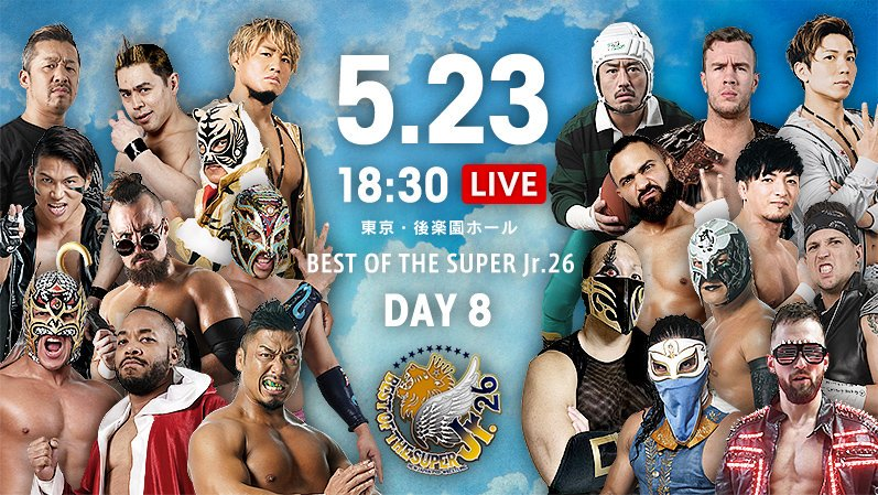 NJPW Best of the Super Jr. 26, 5.23