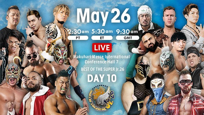 NJPW Best of the Super Jr. 26, 5.26