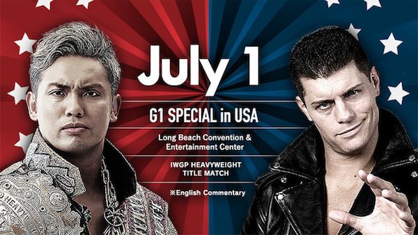 NJPW G1 Special in USA 1