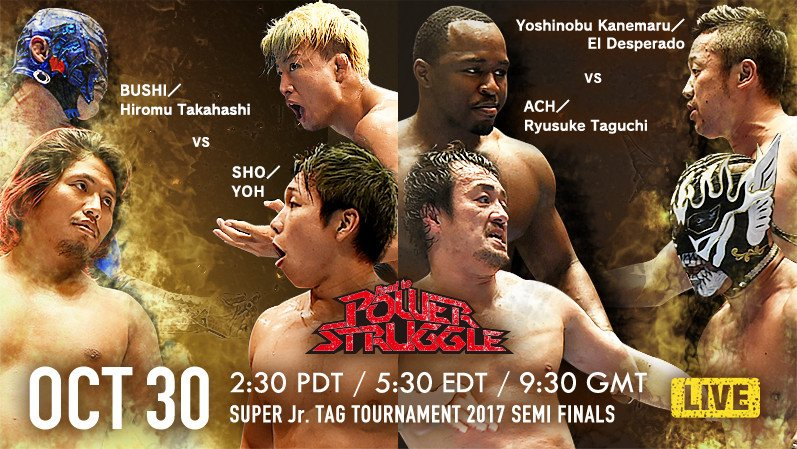 NJPW Road To Power Struggle 2017: Super Jr. Tag Tournament, Day 3