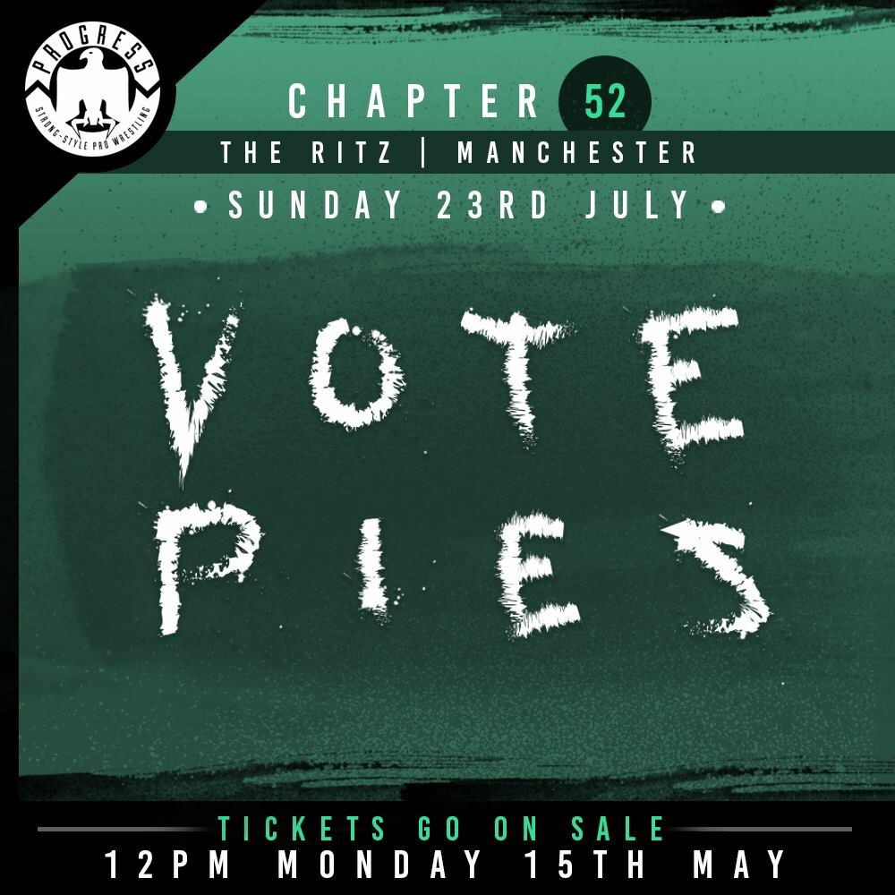 PROGRESS Chapter 52: Vote Pies