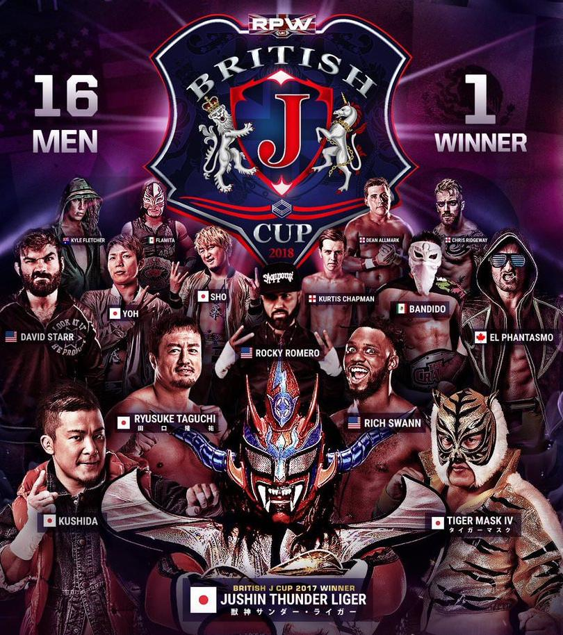 RevPro British J Cup 2018: Day 1