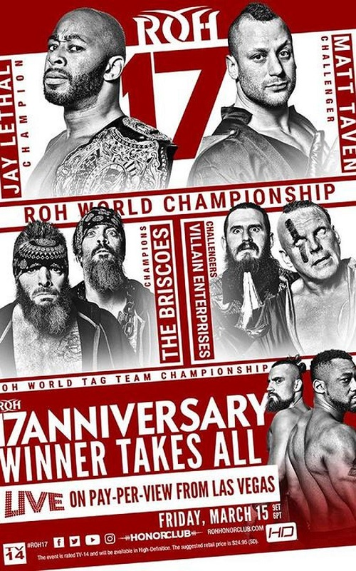 ROH 17th Anniversary Show