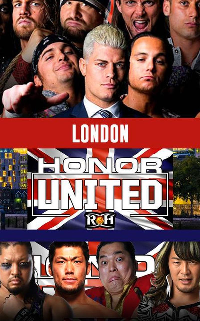 ROH Honor United: London