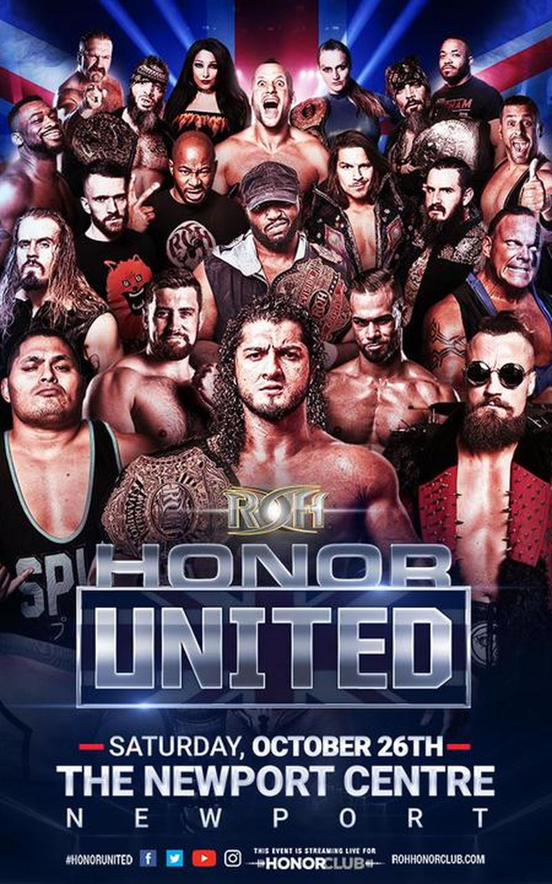 ROH Honor United Tour 2019: Newport