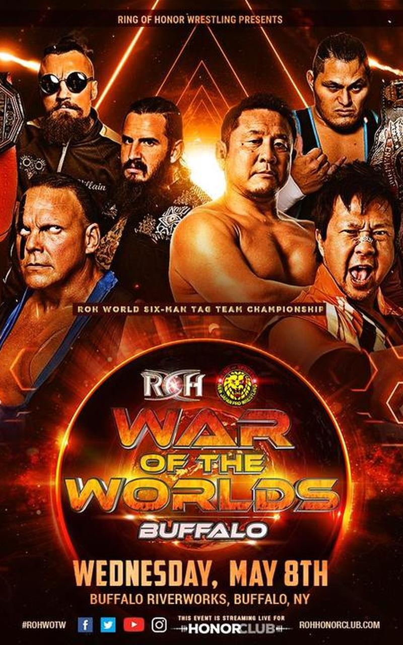 ROH War of the Worlds Tour 2019: Buffalo