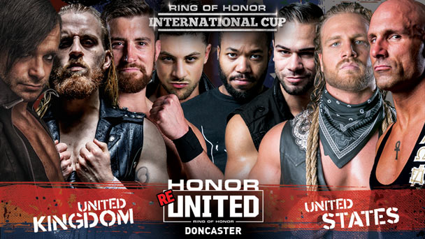 ROH Honor Reunited Tour: Doncaster