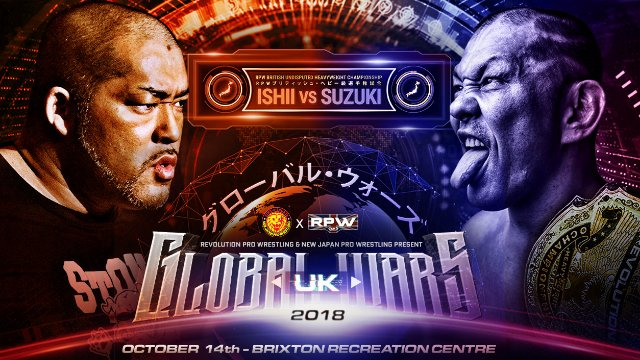 RevPro/NJPW Global Wars UK 2018