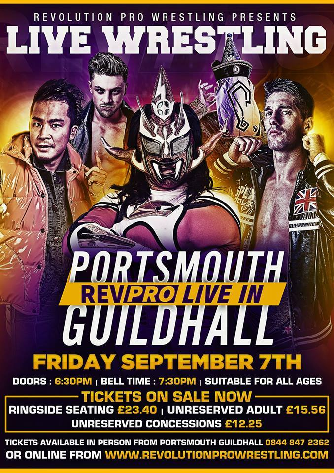 RPW Brawl at the Guildhall