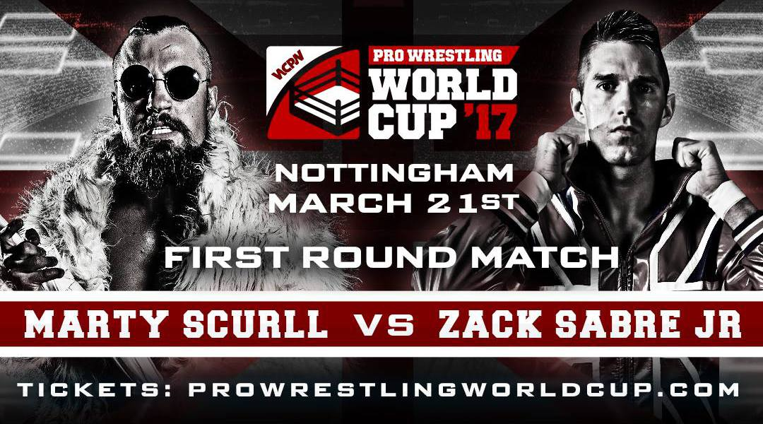 WCPW Pro Wrestling World Cup English Qualifying Bracket