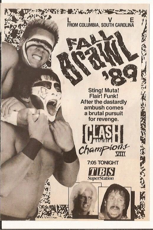 WCW Clash of the Champions VIII: Fall Brawl
