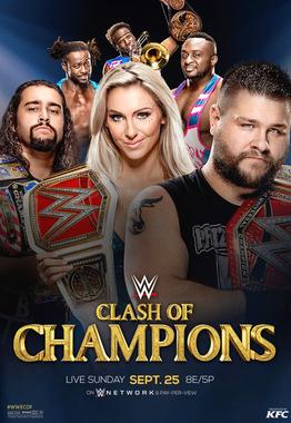 WWE Clash of Champions 2016