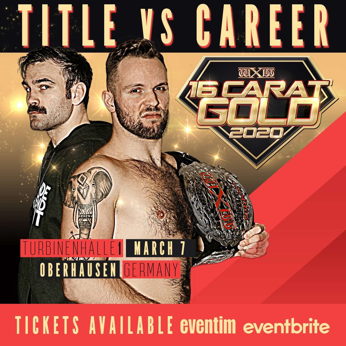 wXw 16 Carat Gold 2020: Night 2