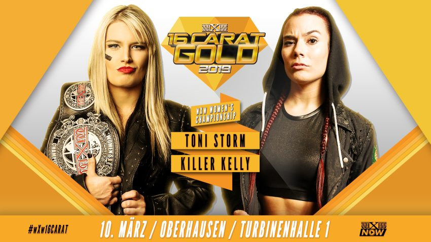 wXw 16 Carat Gold 2019: Night 3