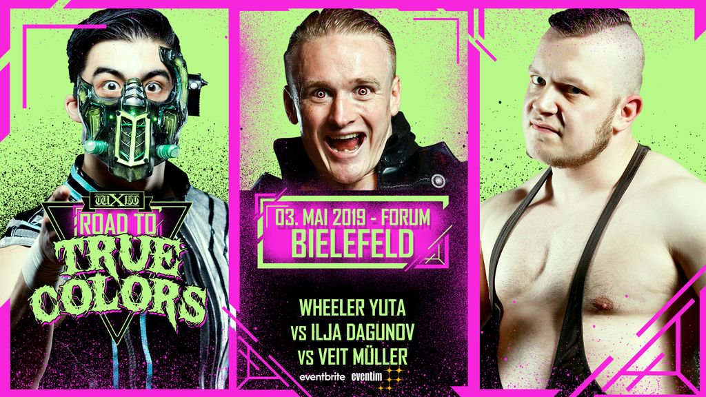 wXw Road to True Colors 2019: Bielefeld