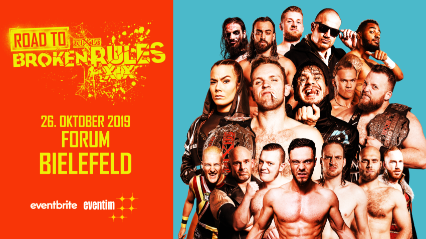 wXw Road to Broken Rules XIX: Bielefeld